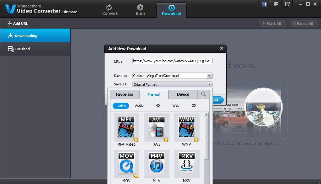 Wondershare Downloader