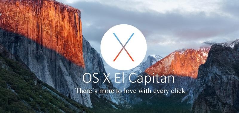 Apple OS X El Capitan Photo
