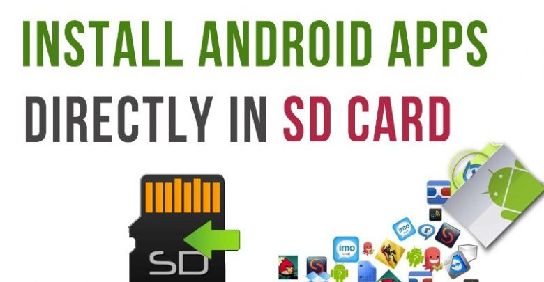 Apps on SD card