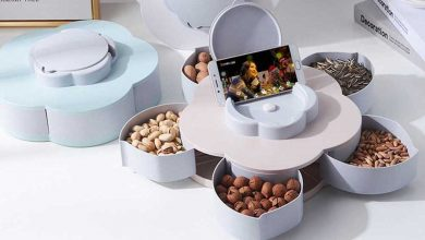 Photo of Serve Up to 10 Different Snacks in this Flower Pedal Snack Holder