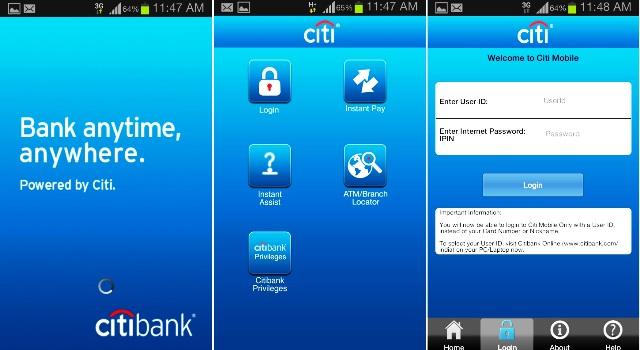 citi mobile bank apk
