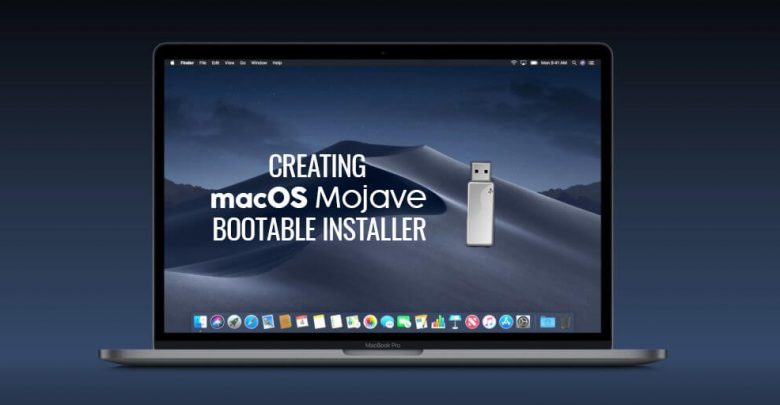 Create macOS Mojave Bootable Installer