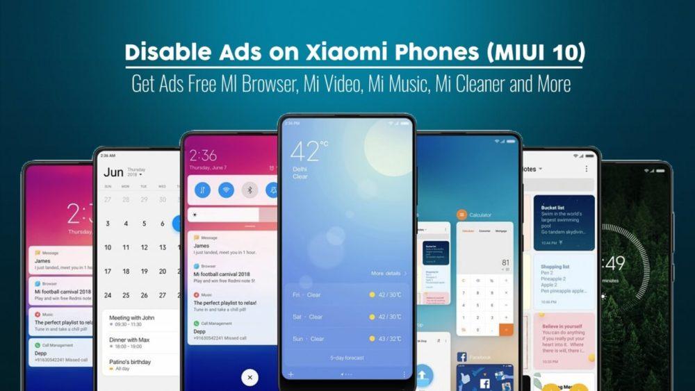 Disable Ads on Xiaomi Phones MIUI 10