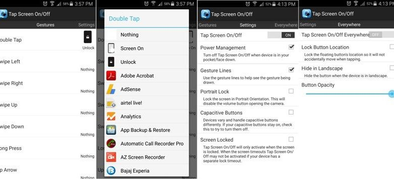 Double Tap App