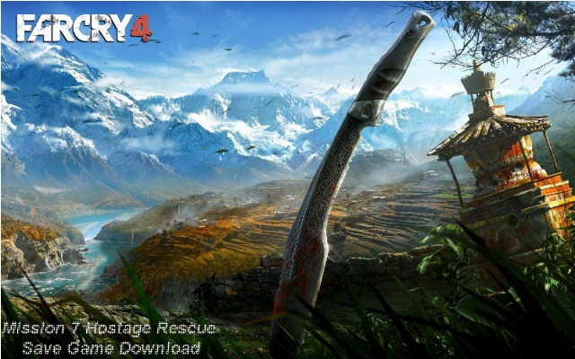 Photo of Far Cry 4 Mission 7 Hostage Rescue Save Game