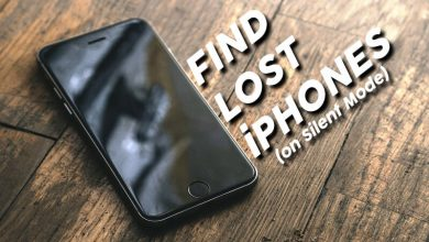 Find Lost iPhones