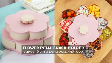 Flower Petal Snacks Holder