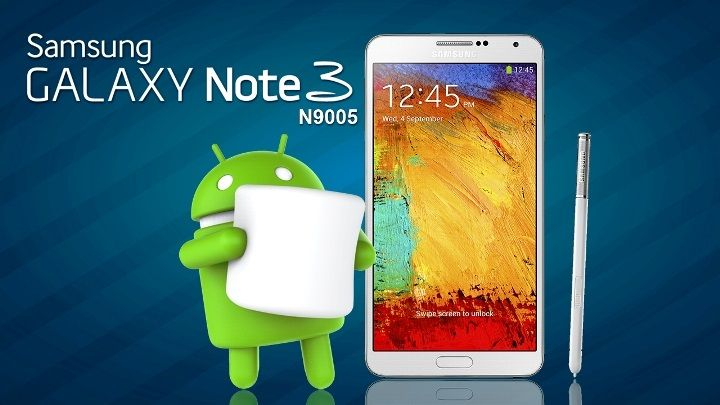 Galaxy Note 3 Marshmallow ROM