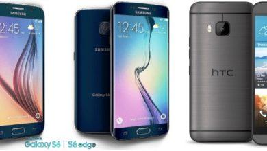 Photo of Samsung Galaxy S6 vs Galaxy S6 Edge vs HTC One M9 Comparison Review