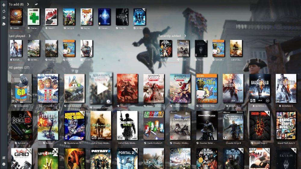 GameRoom launcher