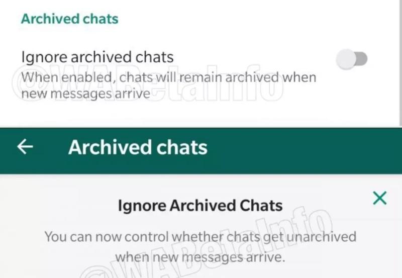 Hiding Chats