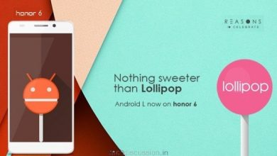 Honor 6 Lollipop Package