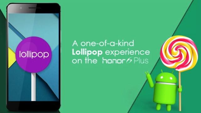 Honor 6 Plus Lollipop
