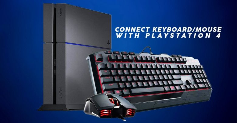 Keyboard Mouse with PS4