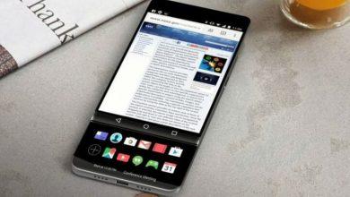LG V30 Secondary Display