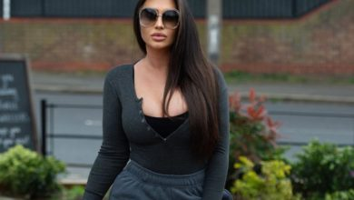 Photo of Lauren Goodger Finally Showed her Face after she said 'Shut up' to NHS Worker