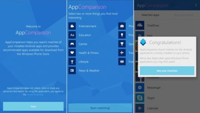 Photo of Microsoft AppComparison APK – Know which Android apps are available on Windows Phone