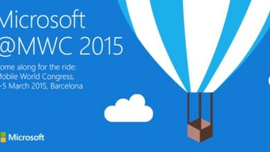 Photo of Microsoft's invitations for MWC 2015 on March 2nd