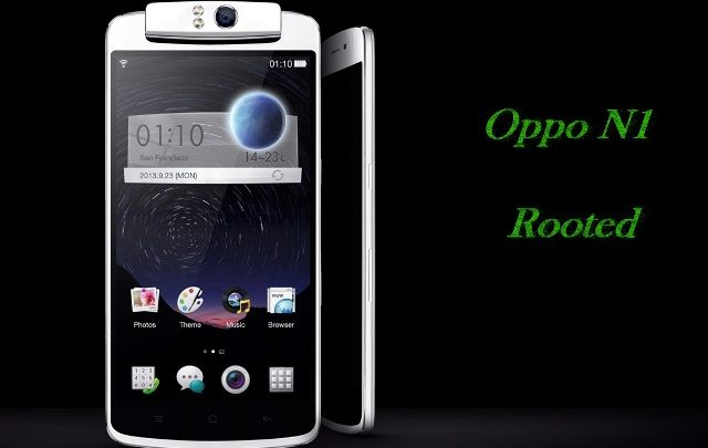 Oppo N1 Rooted