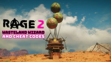 Rage 2 Wasteland Wizard Cheat Codes