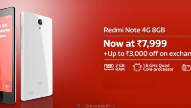 Redmi Note 4G Price Cut