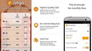 Photo of Download Ringo International Calling App APK