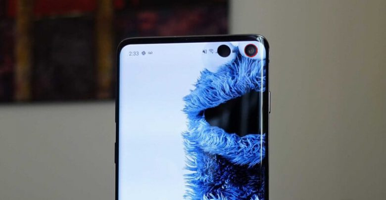 Samsung Galaxy S10 Notification LED