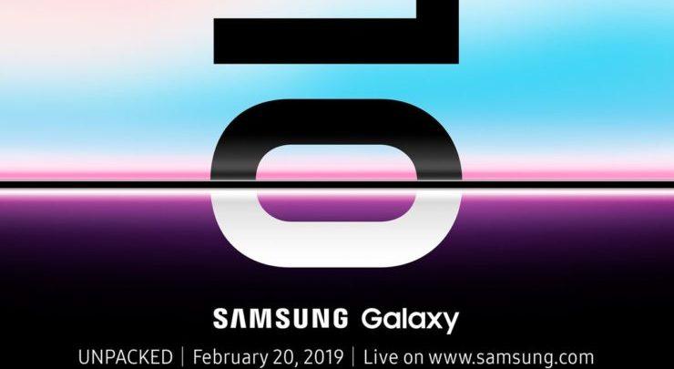 Samsung Galaxy S10 Unpacked Event