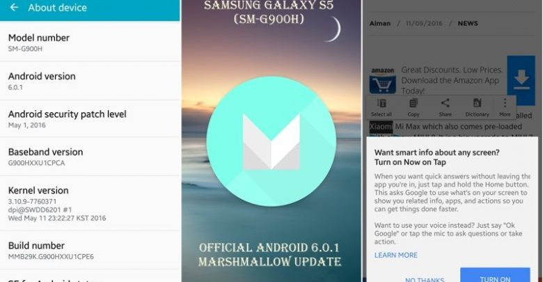 Photo of Download Official Marshmallow Firmware for Galaxy S5 SM-G900H