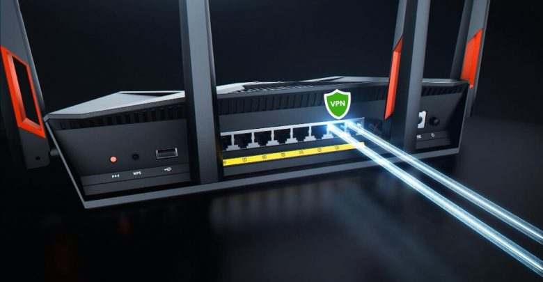Setup VPN on Router