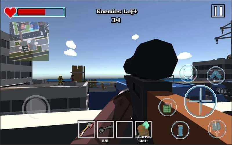 Sniper Shooter Blocky Hitman
