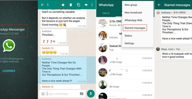 WhatsApp APK with Starred