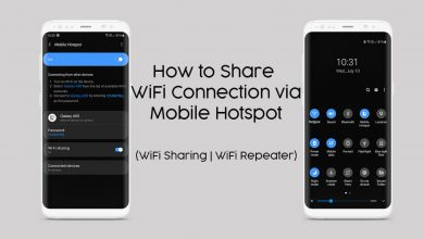 Photo of How to Share WiFi Connection Via Mobile Hotspot (WiFi Sharing or WiFi Repeater)