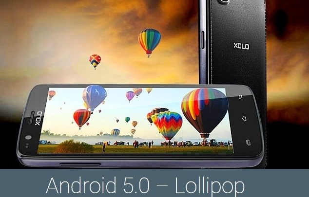 Xolo Q610s Lollipop update