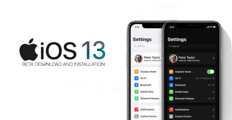 iOS 13 Beta Download and Installation