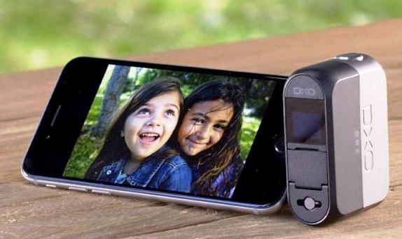iPhone DxO ONE camera