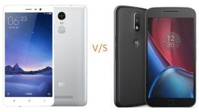 Photo of Xiaomi Redmi Note 3 vs Motorola Moto G4 Plus – Perfect Competition