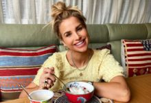 """Photo of Vogue Williams Is Rocking a Pink Dress While Feeling """"Very Pregnant"""""""